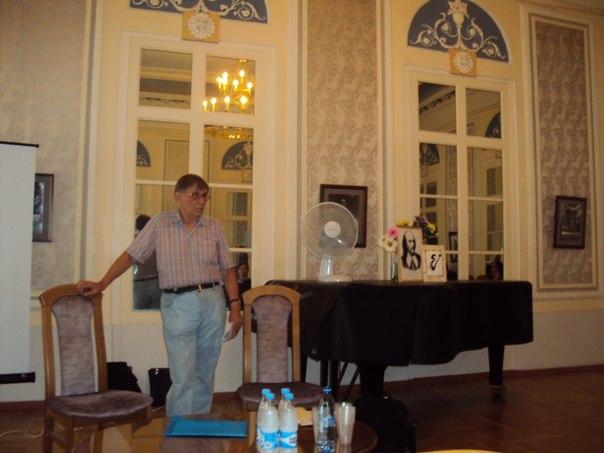 А. В. Бартошевич на Шекспировских чтениях 2012