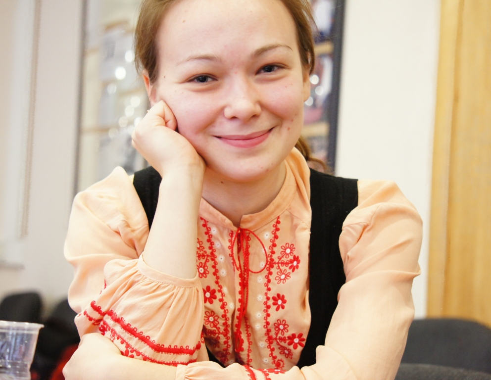 Ксения Аксёнова (Филиппова), 21 год, Вологда — лауреат Ильи-премии'2012