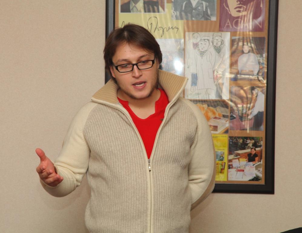 Даниил Каплан, 24 года, Москва  — лауреат Ильи-премии'2012