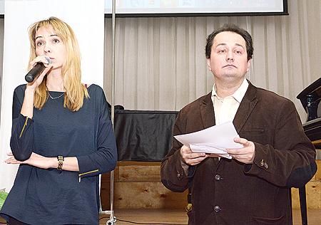 Ст. преподаватель ИВиМО Т. Морозова и В. Макаров