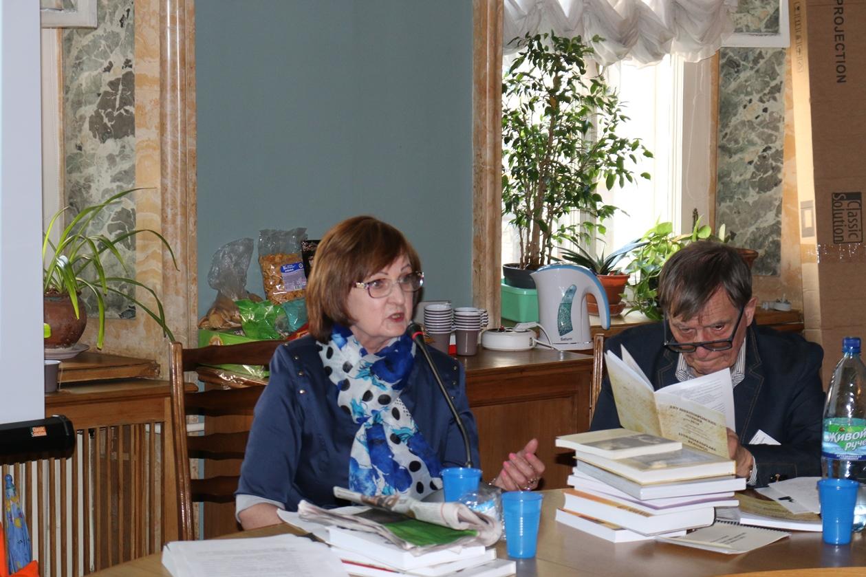 Е. Н. Шапинская. Шекспировские чтения 2014
