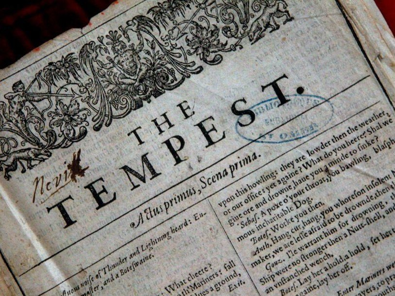 Экземпляр «Первого фолио» Шекспира найден во Франции