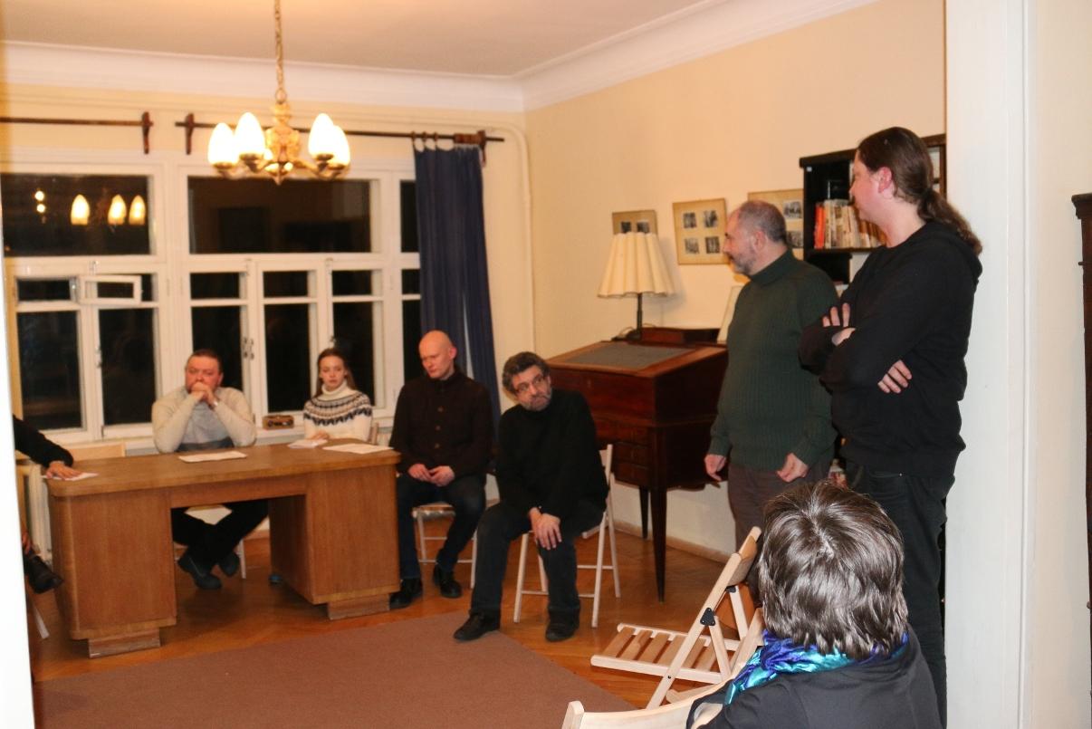 Литературный вечер, посвящённый 75-летию «Гамлета» в переводе Б. Л. Пастернака