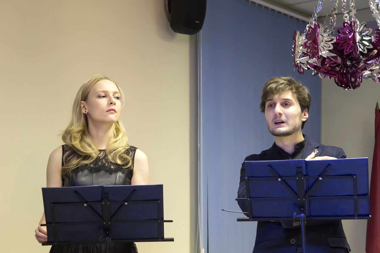 Ольга Немогай и Эльдар Трамов