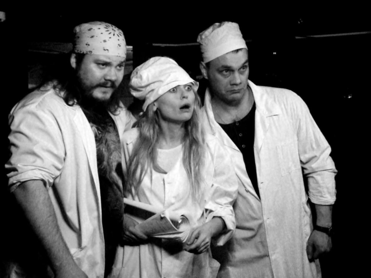 Спектакль по пьесе «В ожидании Гамлета» в Театре на Юго-Западе