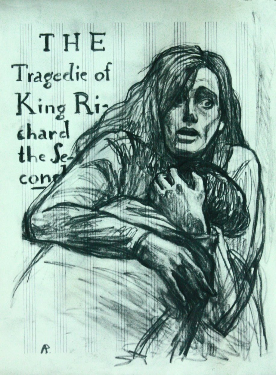 Необычное издание пьесы Шекспира <nobr>Ричард II</nobr>. Иллюстрации Анны Рыжовой