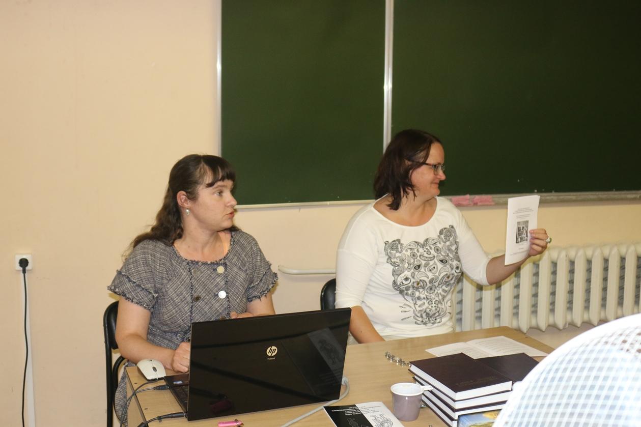 Мария Витальевна Елиферова и Инна Ивановна Лисович