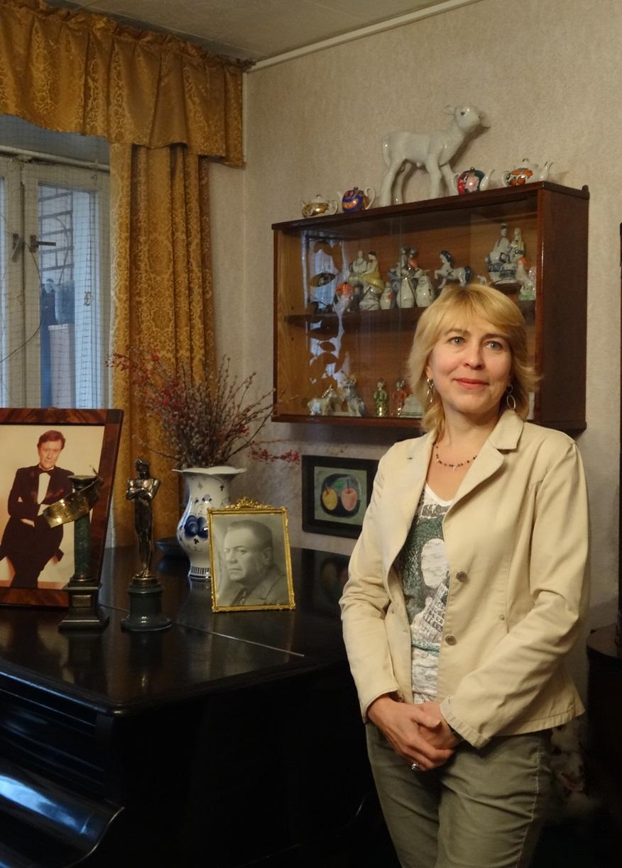Заведующая музеем Е. Б. Гречишкина