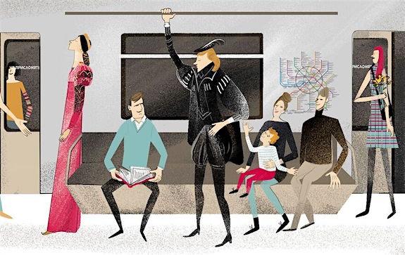 Тематический шекспировский поезд, посвященный творчеству Шекспира и его персонажам