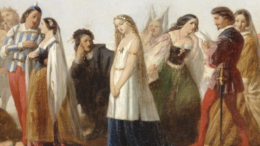 an analysis of the characters in hamlet a play by william shakespeare Attitude of shakespeare on women characters in hamlet the findings on the play are presented in different sections and at the end the overall findings are presented.