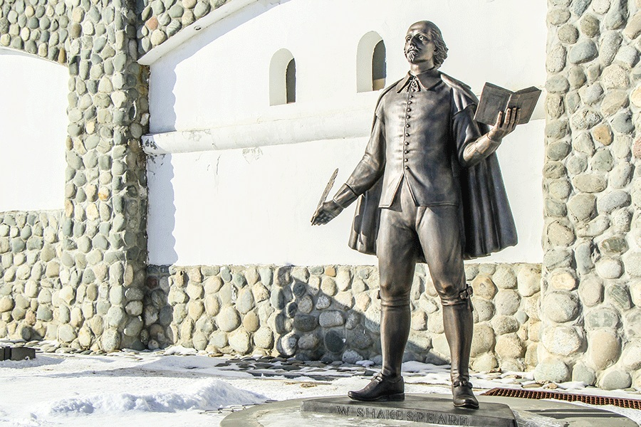 В России объявлен конкурс на создание памятника У. Шекспиру