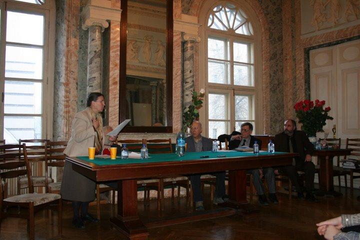 Совместное заседание Шекспировской и Пастернаковской комиссий на тему «Б. Пастернак и Шекспир»