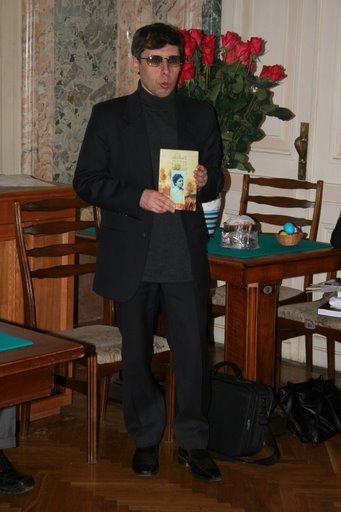 """Участникам встречи также был представлен очередной выпуск сборника """"RuBriCa"""" (автор серии и редактор В. М. Быченков)."""